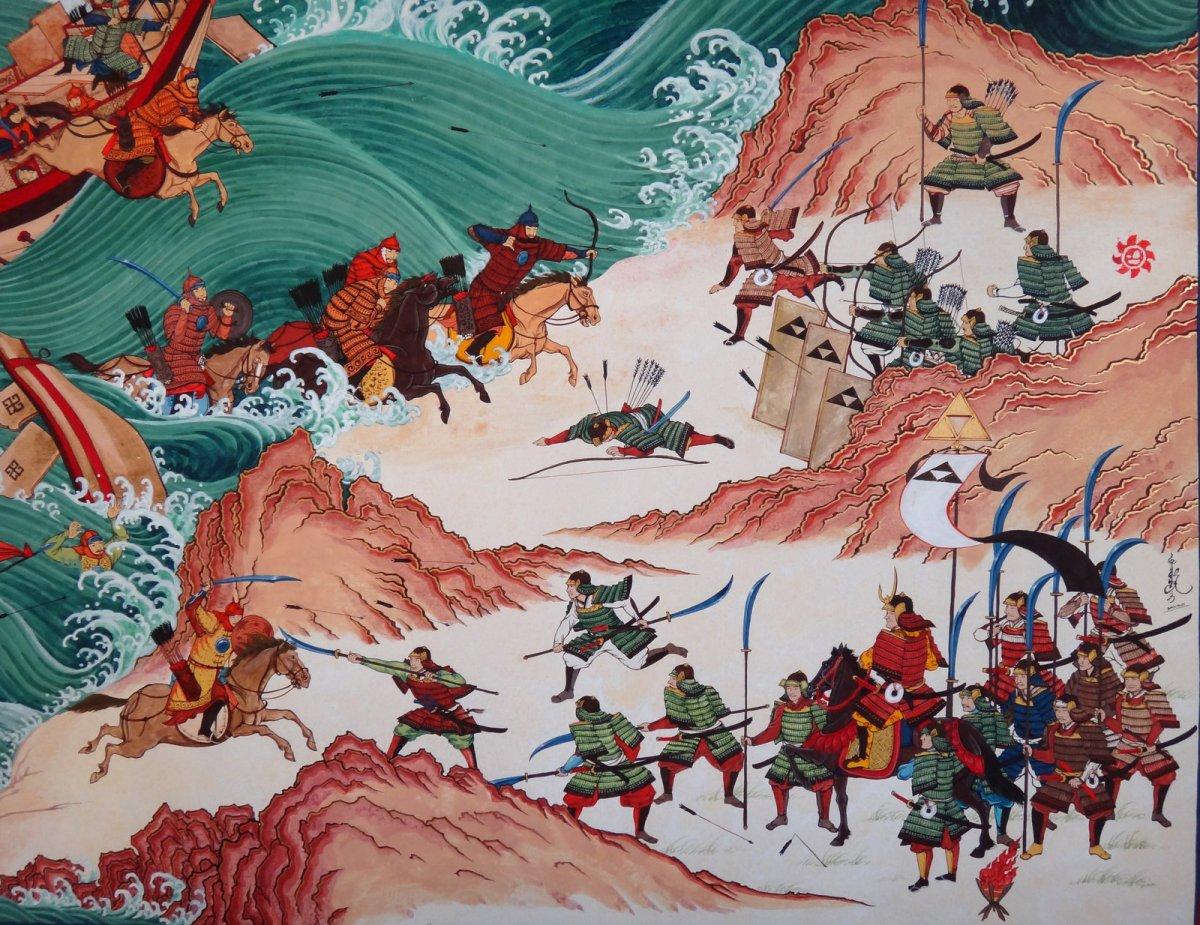 Nhà Nguyên xâm lược Nhật Bản