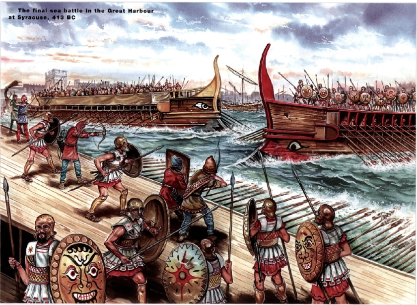 the-peloponnesian-war-syracuse-naval-battle