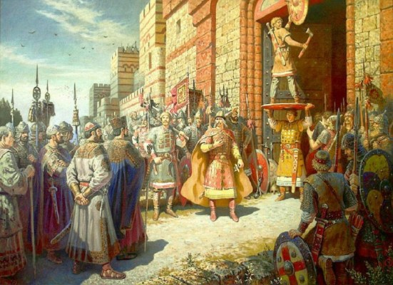 boris-olshansky-shields-at-the-gates-of-tsargrad-the-glory-of-rus