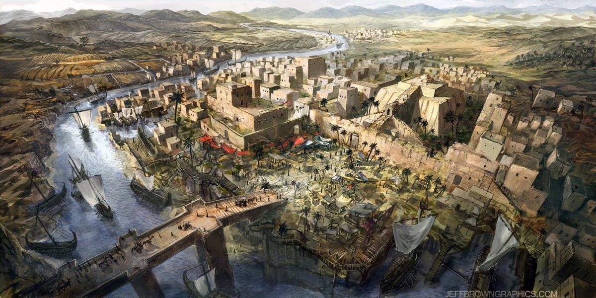 Văn minh phương Tây: vùng Lưỡng Hà