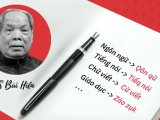 Mấy suy nghĩ về đề xuất thay đổi Tiếng Việt của PGS.TS BùiHiền