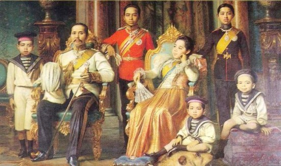 King_Chulalongkorn_and_Family