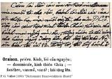 Tiếng Việt từ thời LM de Rhodes: Kinh LạyCha