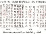 Về hai chữ Tích Việt 昔 越 trong truyệnKiều