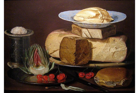 Clara_Peeters_still_life-cheries-salt