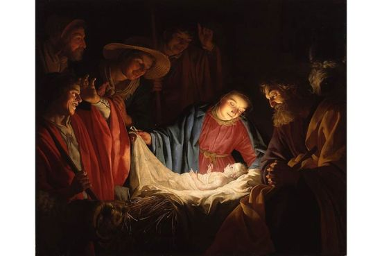 van-Honthorst-Adoration-of-the-Shepherd-1622