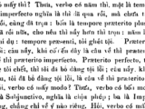 Tiếng Việt thời LM de Rhodes – vài nhận xét về cách dùng thì hiện tại/tương lai/quá khứ (phần16)
