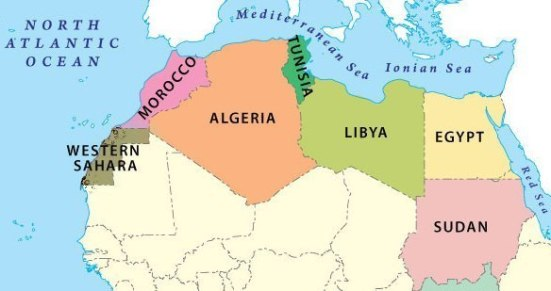 northern-africa-region-map