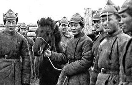 tuva soldiers
