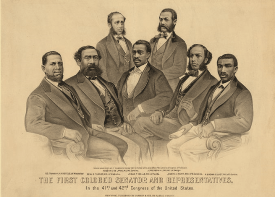 An-1872-portrait-of-African-Americans-serving-in-Congress