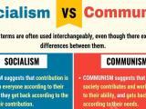 Sự khác nhau giữa Chủ Nghĩa Xã Hội và Chủ Nghĩa CộngSản