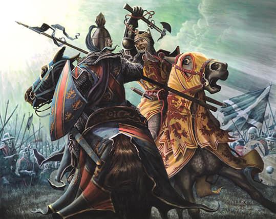Robert the Bruce đọ sức với Henry de Bohun