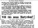 Hai bài báo liên quan đến Cuộc tiếp quản Hà Nội năm 1954 trên báoÚc