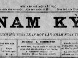Ai là chủ bút báo Quốc ngữ có tênNam-Kỳ?