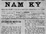 Nam Kỳ – Tờ báo Quốc ngữ cuối thế kỷ 19 còn ít được biếtđến