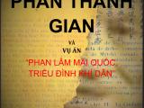 """Đọc nghiên cứu lịch sử """"Phan Thanh Giản và vụ án Phan Lâm Mãi Quốc Triều Đình Khí Dân"""" của Winston Phan ĐàoNguyên"""