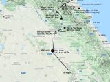 Đường Lâm ở Hà Tĩnh và giao lộ từ Biển Đông đếnMekong