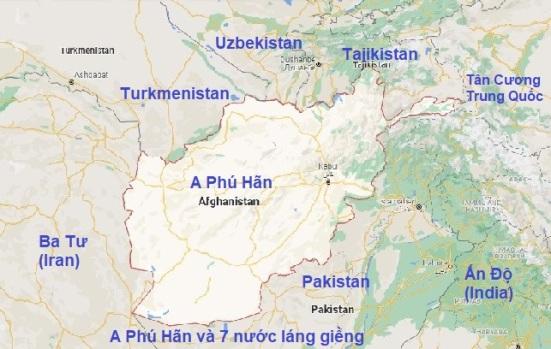 Afganistan Map