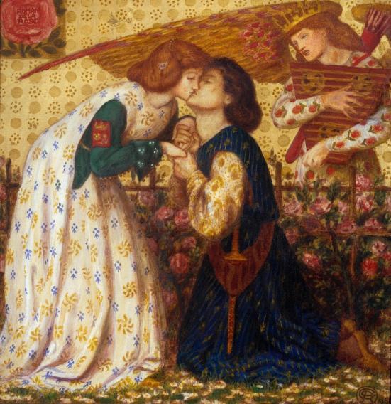Roman de la Rose 1864 by Dante Gabriel Rossetti 1828-1882